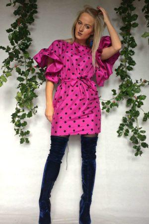 rozā pumpiņ kleita frančeska
